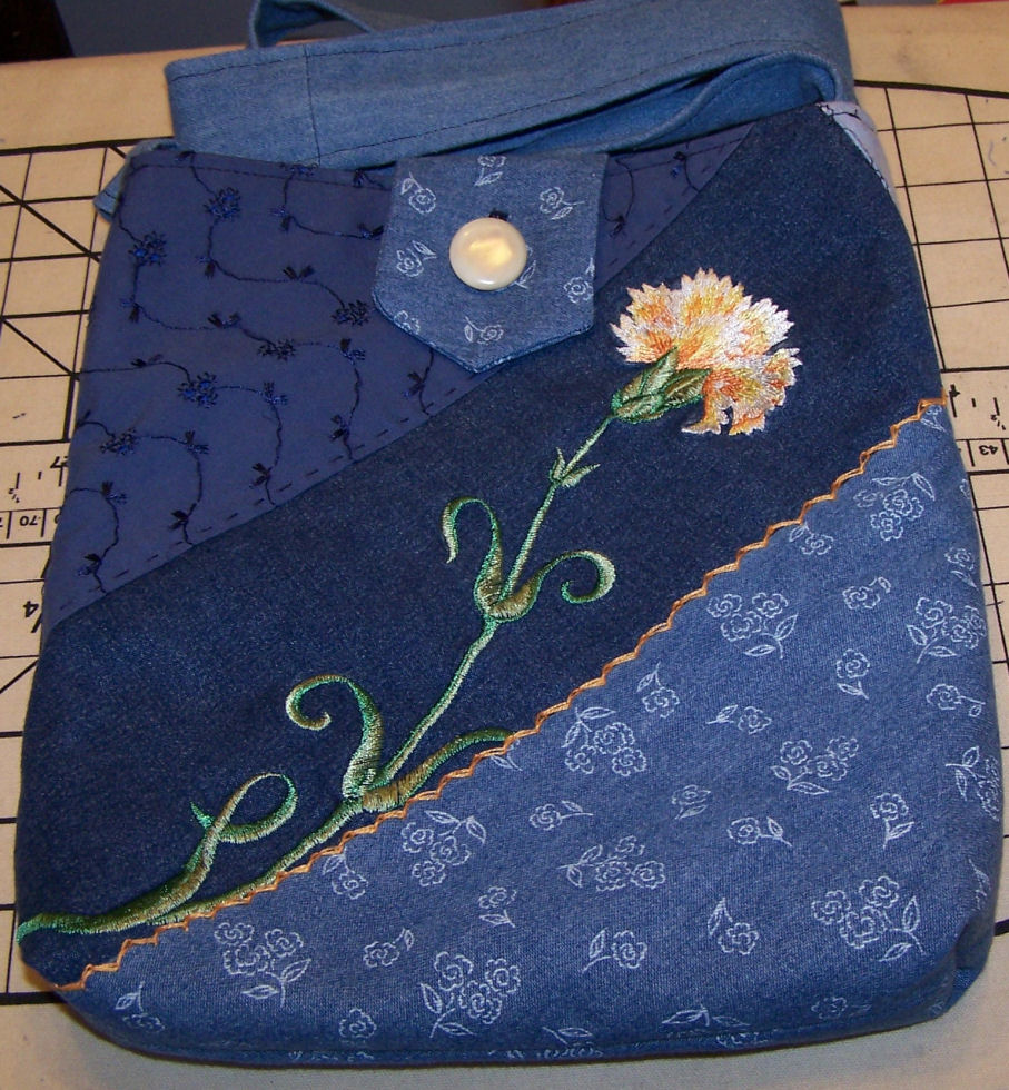 Beaded embroidered bags by mary c dyer studio button artist